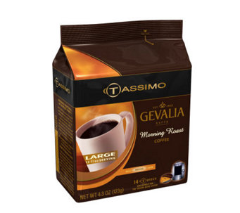 Tassimo Gevalia 12 oz Morning Roast - 70 T Discs - K129635