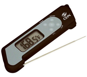 CDN TCT572 ProAccurate Folding Thermocouple Thermometer - K300035