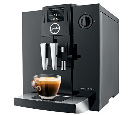 Jura Auto Coffee Center w/ One Touch Color Display