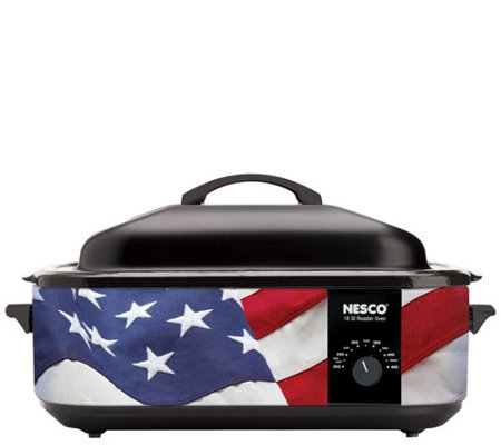 Nesco 18-Qt Patriotic Roaster