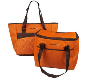 Rachael Ray Set of 2 ChillOut 2 Go Totes - K35535