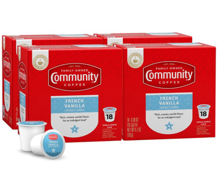 Community Coffee 72-ct French Vanilla Single-Serve Cups