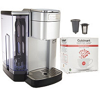 Cuisinart SS10 Single-Serve Coffee Maker w/Barista Cup & 18 Coffee Pods - K45535