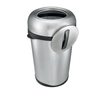 polder 16 gallon indoor outdoor trash can. Black Bedroom Furniture Sets. Home Design Ideas