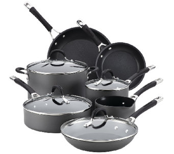 Circulon Momentum Hard-Anodized Nonstick 11-Piece Cookware Se - K304436