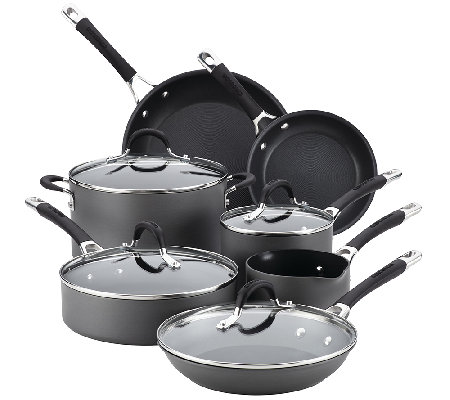 Circulon Momentum Hard-Anodized Nonstick 11 PcCookware Set