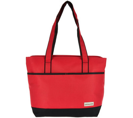 Lock & Lock Side by Side Double Compartment Insulated Bag