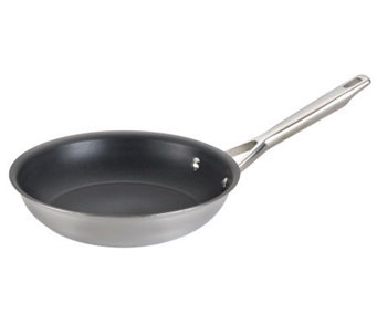 "Anolon 10.25"" Tri-Ply Clad Stainless Steel French Skillet - K302737"