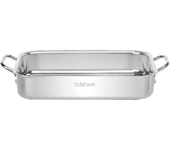 "Cuisinart Chef's Classic Stainless 13.5"" Lasagna Pan - K304137"