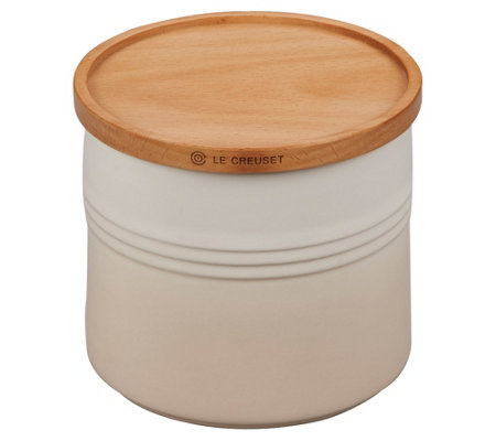 Le Creuset 1.5-qt Canister with Wooden Lid