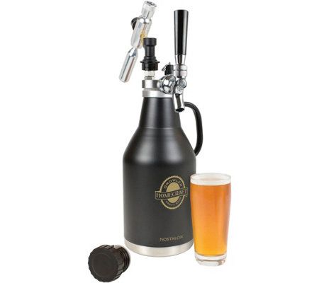 Nostalgia Electrics Homecraft Beer Growler