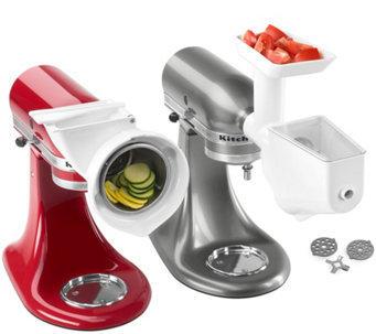 KitchenAid Grinder, Slicer & Strainer Attachment Pack - K40538