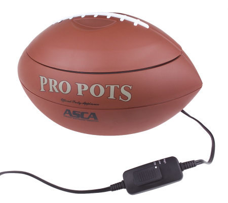Pro Pots 1.5 qt Football Shape Slow Cooker