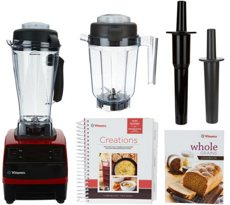 Vitamix Turbo Blend 16-in-1 64oz 2-Speed Blender w/ 32oz Dry Container