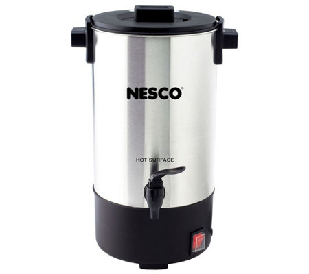 Nesco 25-Cup Stainless Steel Coffee Urn