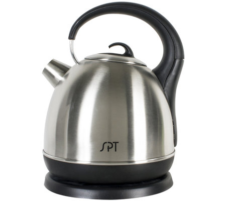SPT 1.7L Stainless Steel Cordless Electric Kettle
