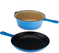 Le Creuset 3.75 qt. Cast Iron 2-in-1 Pan - K44639