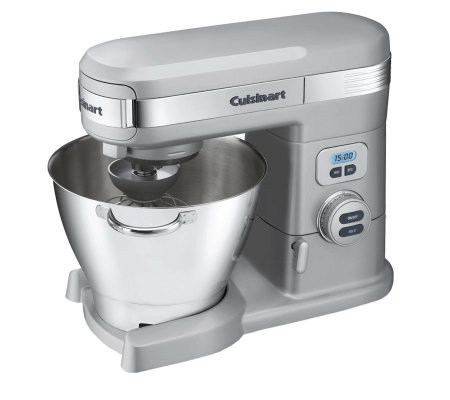 Cuisinart 5.5 Quart Stand Mixer - Chrome