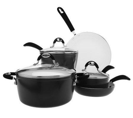 Bialetti 8 Piece Nano Ceramic Nonstick Cookware Set