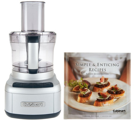 Cuisinart 8 cup food processor w cookbook page 1 qvc cuisinart 8 cup food processor w cookbook forumfinder Image collections