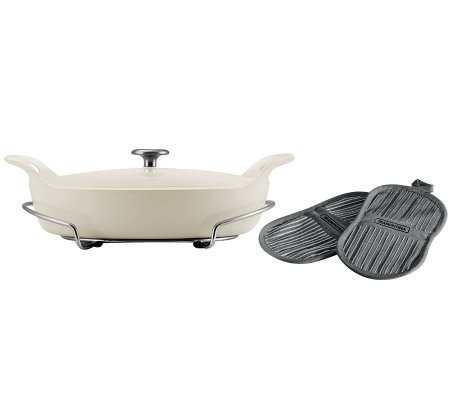 Tramontina Limited Editions Series 1200 3.5Qt Oval Braiser