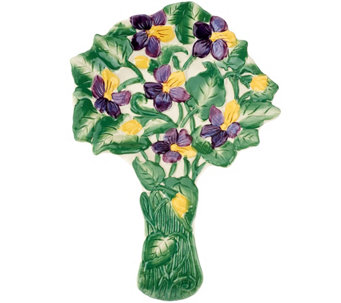Temp-tations Figural Floral Spoon Rest - K42141