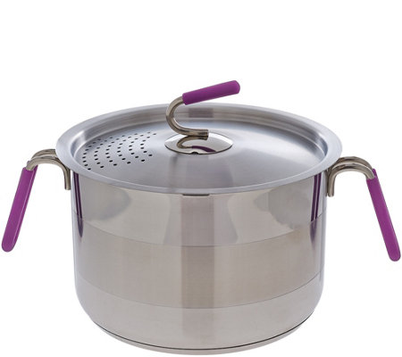 Kuhn Rikon 6 qt. Straining Stock Pot with Basket
