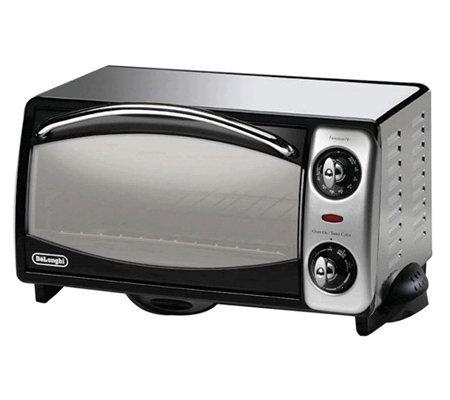 DeLonghi 4-Slice Toaster Oven & Bake Set ? QVC.com