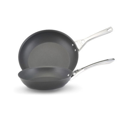 "Circulon Infinite Skillet Twin Pack: 10"" & 12""Skillets"
