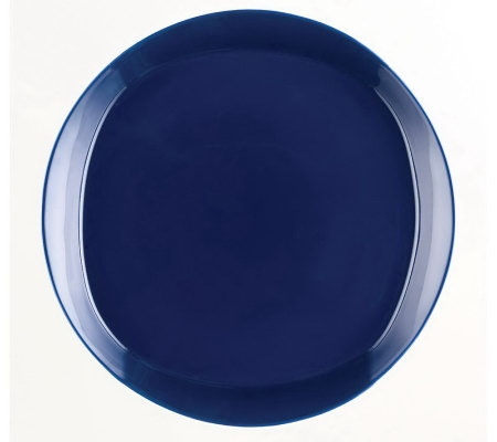 Rachael Ray Round and Square Dinner Plates - 4-Pack
