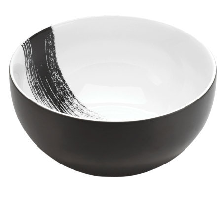 "Mikasa Brushstroke 9-1/2"" Vegetable Bowl"