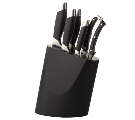 BergHOFF Geminis 7-Piece Knife and Block Set