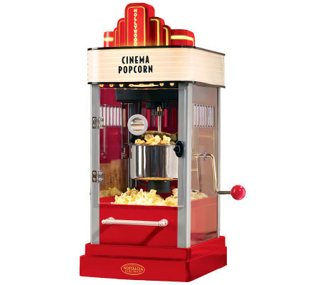 Nostalgia Electrics Hollywood Kettle Popcorn Maker