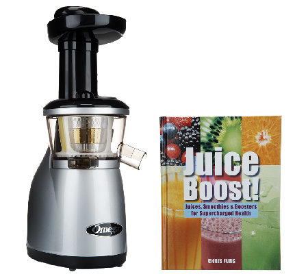 omega vrt 350hd low speed juicer with recipe book