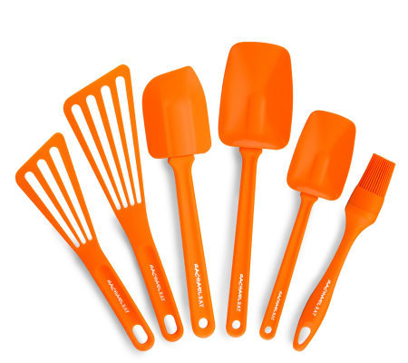 Rachael Ray 6pc Orange Tool Set