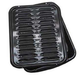 Range Kleen Porcelain Broiler Pan with Grill - K131743