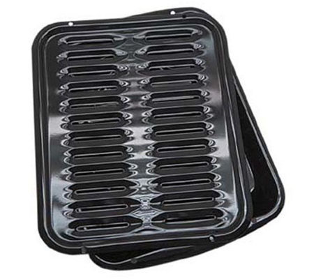 Range Kleen Porcelain Broiler Pan with Grill
