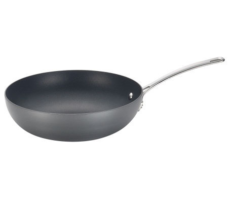 "Circulon Genesis Hard-Anodized 12"" Stir-Fry Pan"
