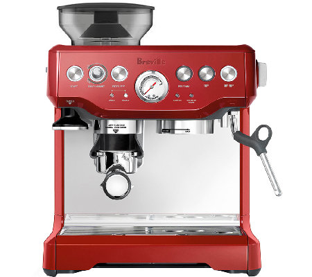 Breville Barista Express, Cranberry Red