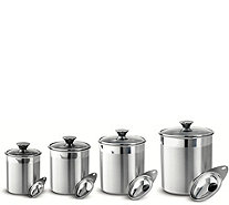 Tramontina Gourmet 8-Piece Canister & Scoops Set - K375843