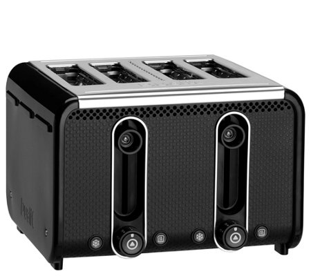 Dualit Studio Collection 4-Slice Toaster - Black