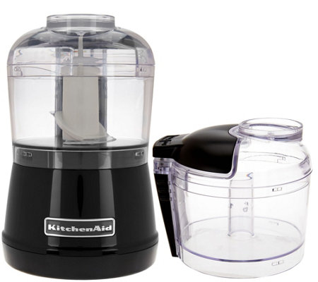KitchenAid 3.5 Cup One-Touch 2-speed Chopper with Extra Bowl