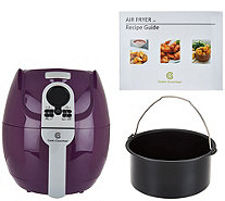 CooksEssentials 3qt Digital Air Fryer w/ Presets & Pan - K44643