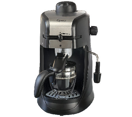 Capresso SteamPRO 4-Cup Espresso and CappuccinoMachine
