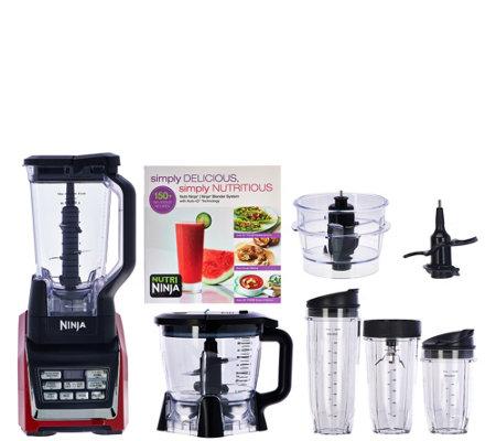 Nutri Ninja Oz W Mega Kitchen System W Auto IQ Prep Bowl - Www ninja kitchen com