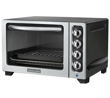 "KitchenAid 12"" Countertop Oven - Onyx Black"
