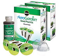 Miracle-Gro AeroGarden Set of 2 3-Pod Kale SeedPod Kits - K305345
