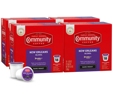 Community Coffee 72-ct New Orleans Blend Single-Serve Cups