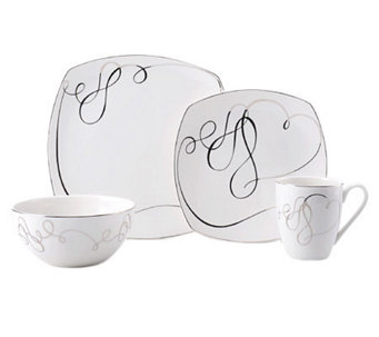 Mikasa Love Story Square 4-Piece Place Setting - K299246