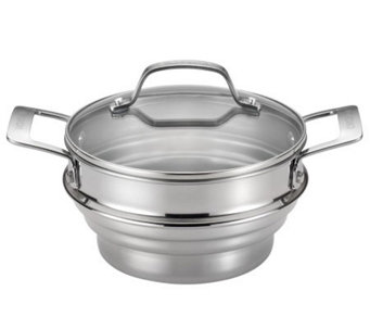 Circulon Stainless Steel Universal Steamer withLid - K302046